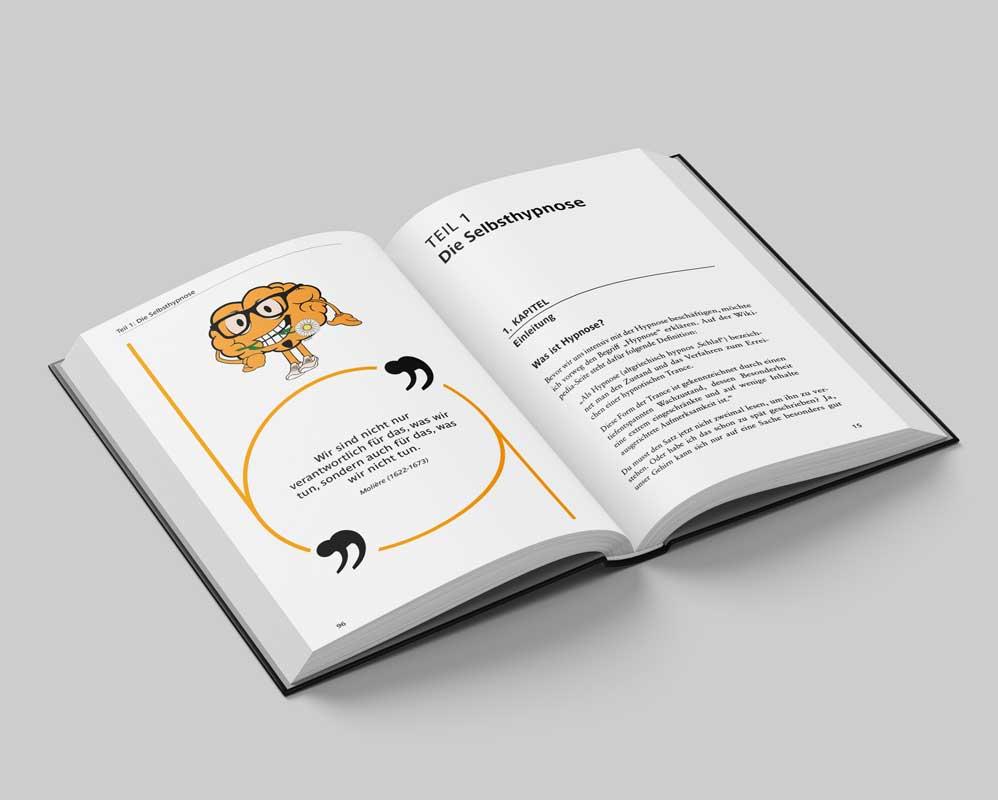 Innenteil Buch Selbsthypnose lernen